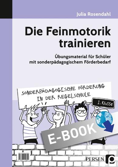 Die Feinmotorik trainieren - Blick ins Buch
