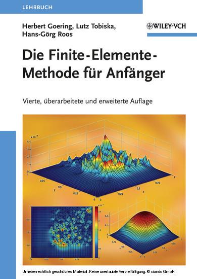 Die Finite-Elemente-Methode für Anfänger - Blick ins Buch