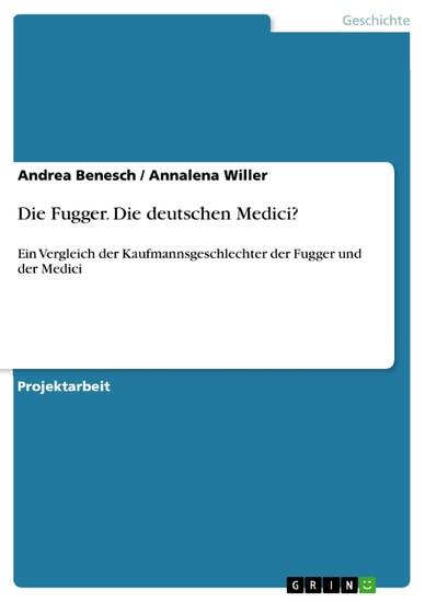 Die Fugger. Die deutschen Medici? - Blick ins Buch