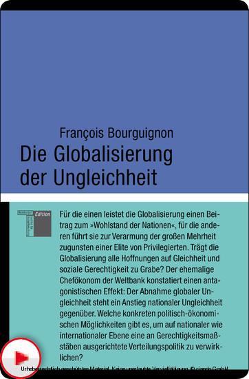Die Globalisierung der Ungleichheit - Blick ins Buch