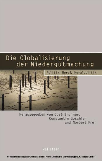 Die Globalisierung der Wiedergutmachung - Blick ins Buch