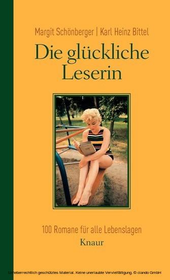 Die glückliche Leserin - Blick ins Buch