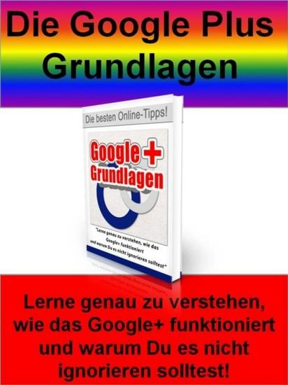Die Google Plus Grundlagen - Blick ins Buch