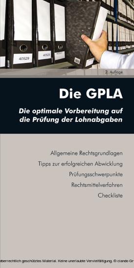 Die GPLA (Ausgabe Österreich) - Blick ins Buch