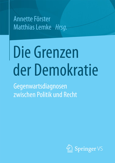 Die Grenzen der Demokratie - Blick ins Buch