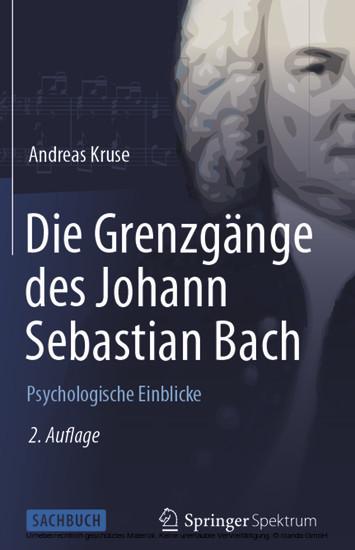Die Grenzgänge des Johann Sebastian Bach - Blick ins Buch