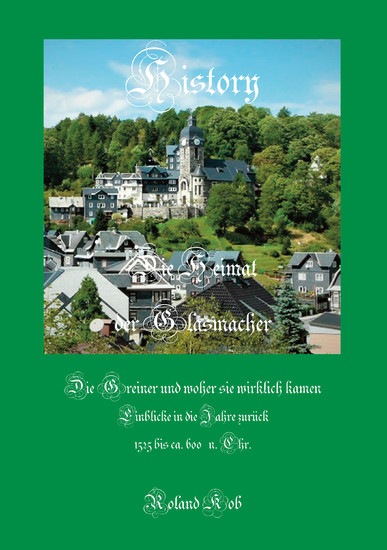 Die Heimat der Glasmacher - Blick ins Buch