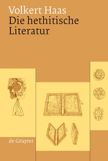 Die hethitische Literatur - Blick ins Buch