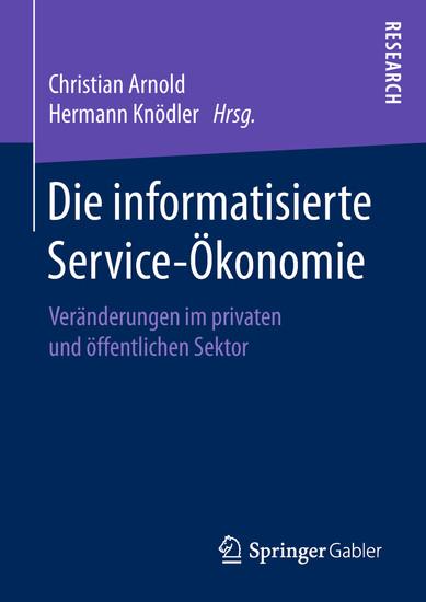 Die informatisierte Service-Ökonomie - Blick ins Buch