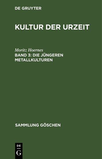 Die jüngeren Metallkulturen - Blick ins Buch