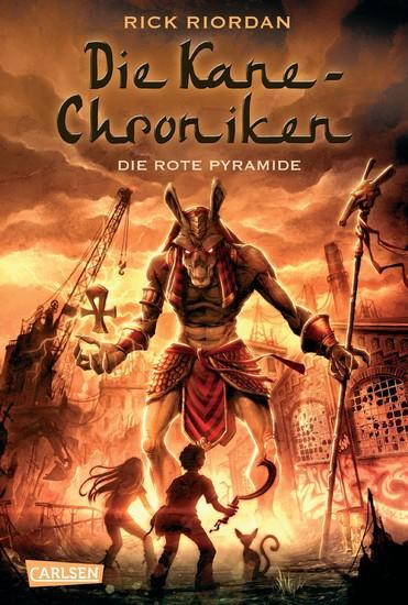 Die Kane-Chroniken 1: Die rote Pyramide - Blick ins Buch