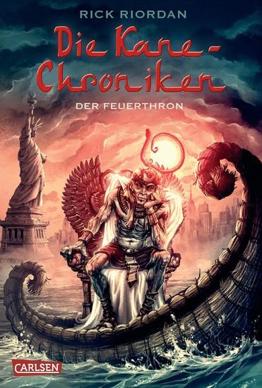 Die Kane-Chroniken 2: Der Feuerthron - Blick ins Buch