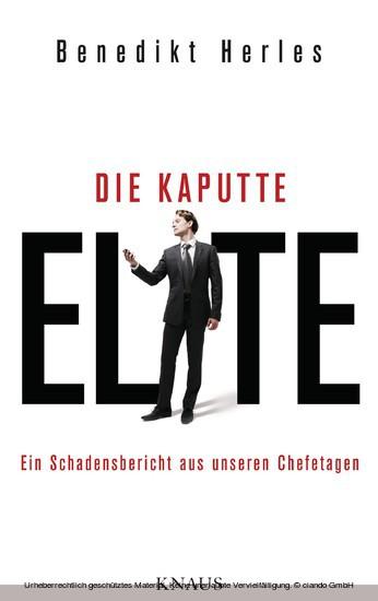 Ebook Die Kaputte Elite