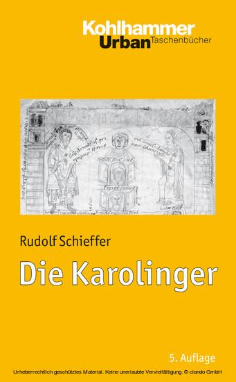 Die Karolinger - Blick ins Buch