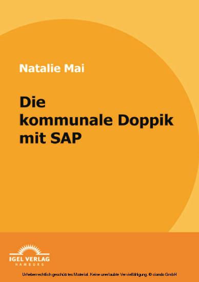 Die kommunale Doppik mit SAP - Blick ins Buch