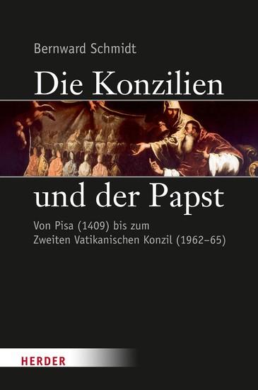 Die Konzilien und der Papst - Blick ins Buch