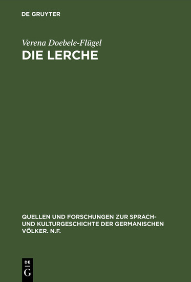 Die Lerche - Blick ins Buch
