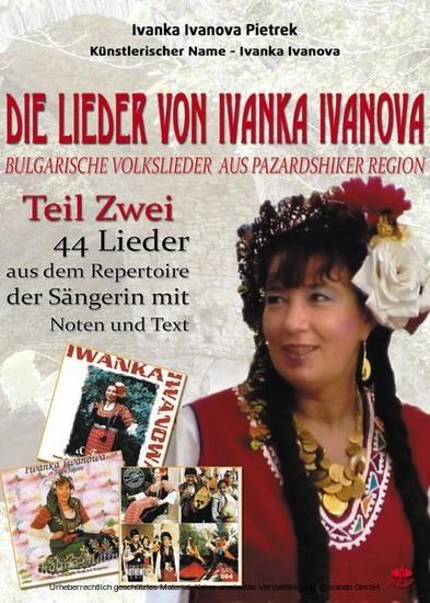 Die Lieder von Ivanka Ivanova Teil Zwei - Blick ins Buch