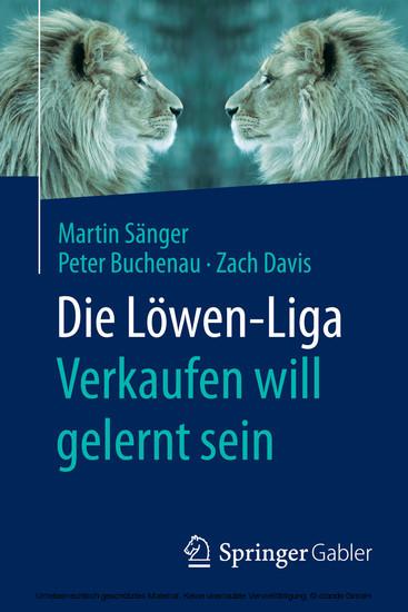 Die Löwen-Liga: Verkaufen will gelernt sein - Blick ins Buch
