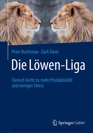 Die Löwen-Liga - Blick ins Buch