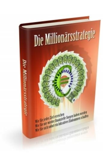 Die Millionärsstrategie - Blick ins Buch