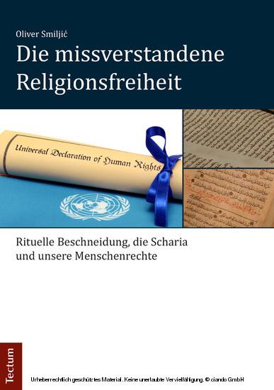Die missverstandene Religionsfreiheit - Blick ins Buch