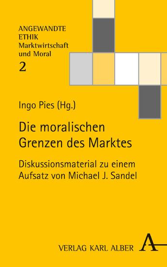 Die moralischen Grenzen des Marktes - Blick ins Buch