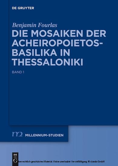 Die Mosaiken der Acheiropoietos-Basilika in Thessaloniki - Blick ins Buch