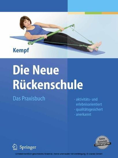 Die Neue Rückenschule - Blick ins Buch