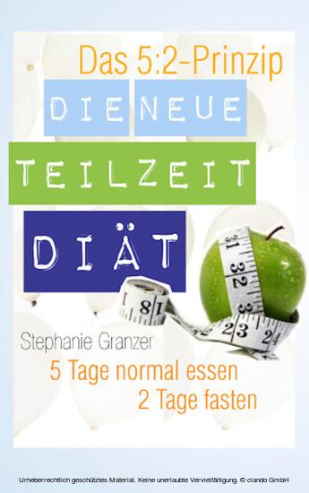 Die neue Teilzeit-Diät - Blick ins Buch
