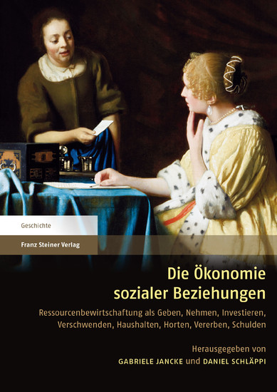Die Ökonomie sozialer Beziehungen - Blick ins Buch