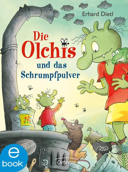 Die Olchis und das Schrumpfpulver - Blick ins Buch
