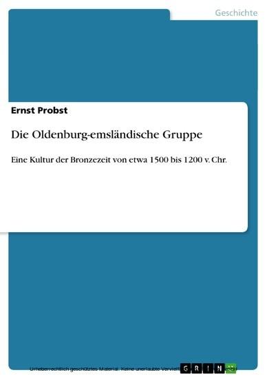 Die Oldenburg-emsländische Gruppe - Blick ins Buch