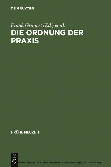 Die Ordnung der Praxis - Blick ins Buch