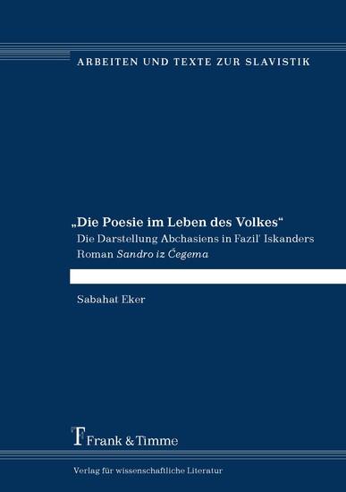 'Die Poesie im Leben des Volkes' - Blick ins Buch