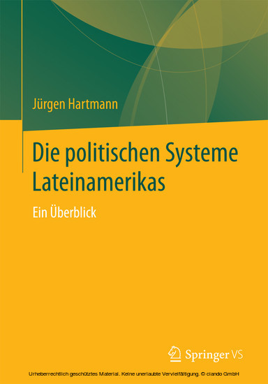 Die politischen Systeme Lateinamerikas - Blick ins Buch