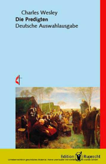 Die Predigten (herausgegeben von Martin E. Brose) - Blick ins Buch