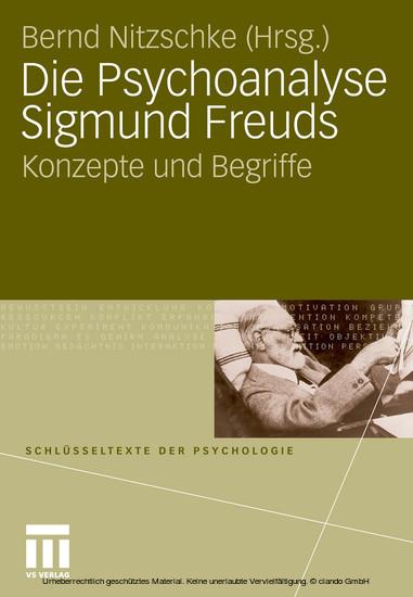Die Psychoanalyse Sigmund Freuds - Blick ins Buch