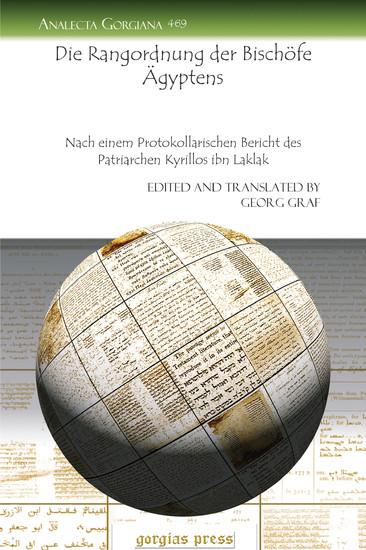 Die Rangordnung der Bischöfe Ägyptens - Blick ins Buch