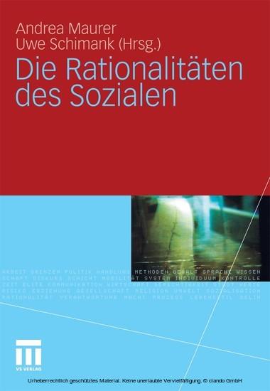 Die Rationalitäten des Sozialen - Blick ins Buch