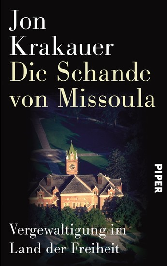 Die Schande von Missoula - Blick ins Buch