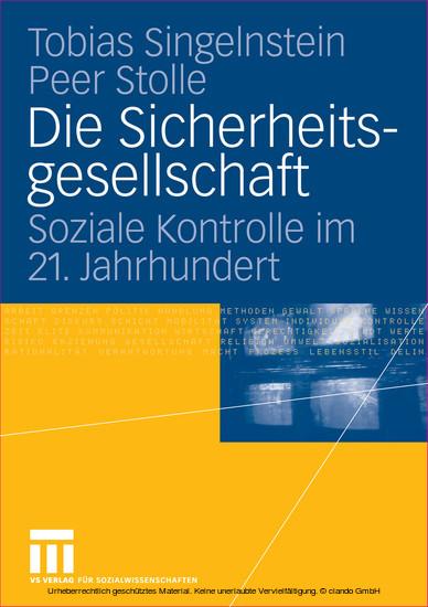 Die Sicherheitsgesellschaft - Blick ins Buch