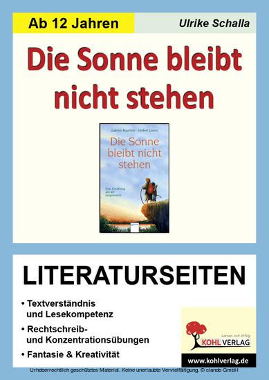 Die Sonne bleibt nicht stehen - Literaturseiten - Blick ins Buch