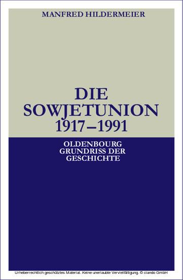 Die Sowjetunion - Blick ins Buch