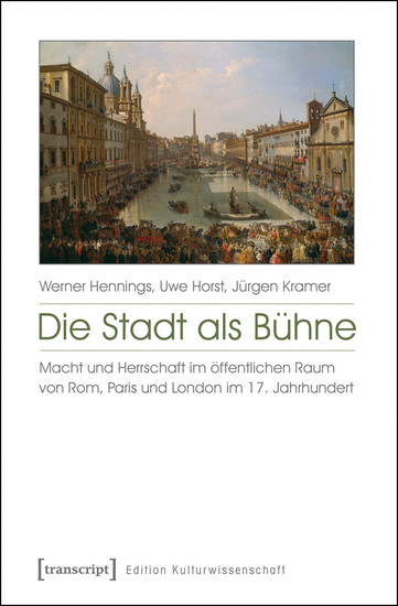 Die Stadt als Bühne - Blick ins Buch