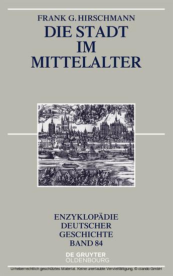 Die Stadt im Mittelalter - Blick ins Buch