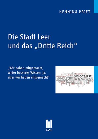 Die Stadt Leer und das 'Dritte Reich' - Blick ins Buch
