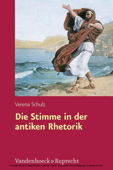 Die Stimme in der antiken Rhetorik - Blick ins Buch