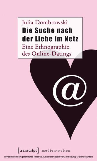 Die Suche nach der Liebe im Netz - Blick ins Buch