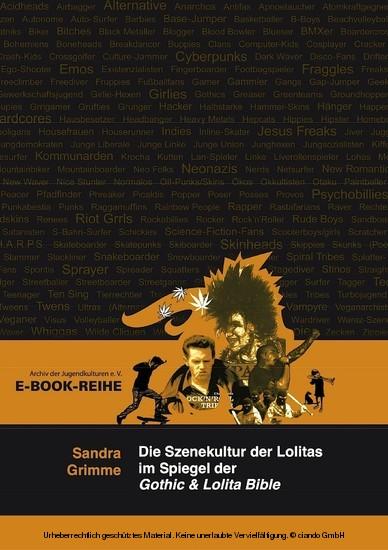Die Szenekultur der Lolitas im Spiegel der Gothic & Lolita Bible - Blick ins Buch
